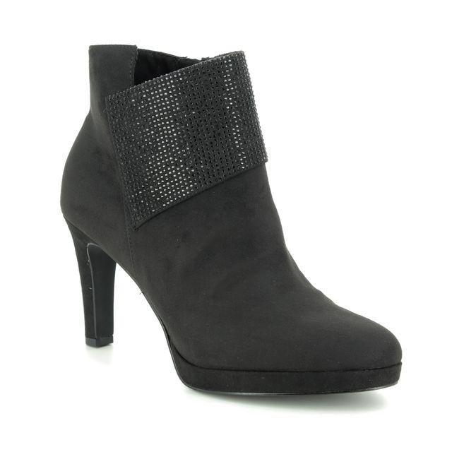 Tamaris Ankle Boots - Black Glitz - 25383/23/043 LUCINDA