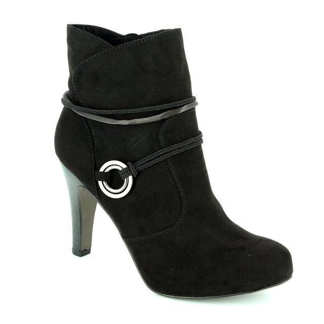 Tamaris Lycorbu 25372-001 Black ankle boots
