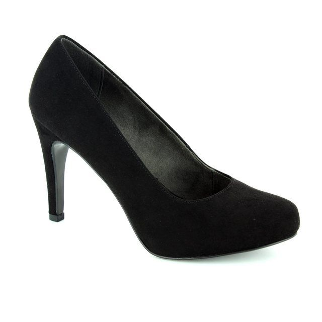 Tamaris Lycoris 22459-004 Black high-heeled shoes