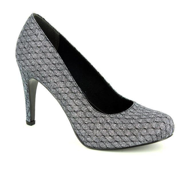 Tamaris Lycoris 22459-916 Metallic high-heeled shoes