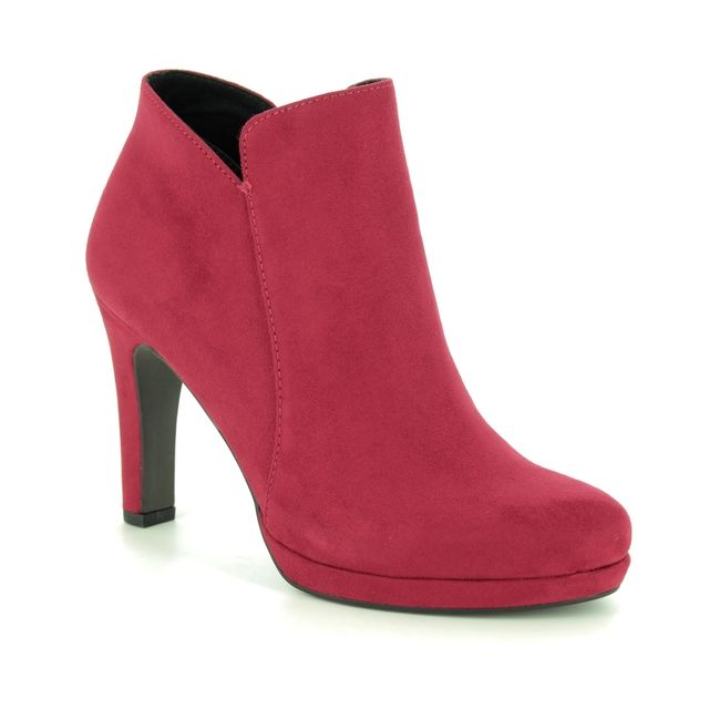 Tamaris Ankle Boots - Red - 25316/23/515 LYCORIS