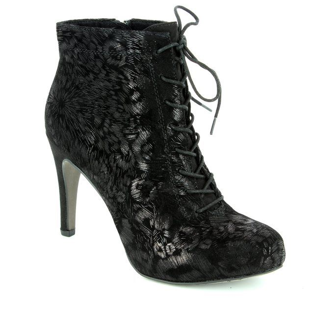 Tamaris Ankle Boots - Black - 25101/006 LYCORLACE