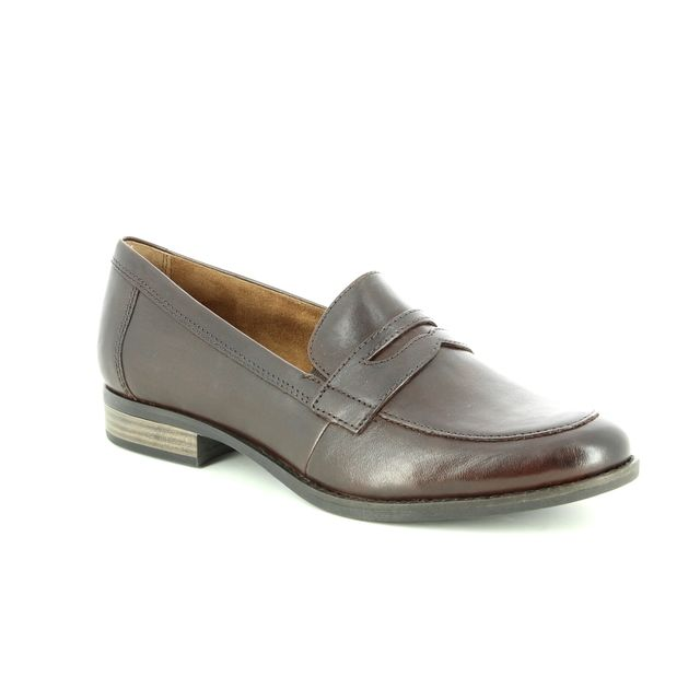 Tamaris Loafers - Brown leather - 24215/21/304 MALIMOCC