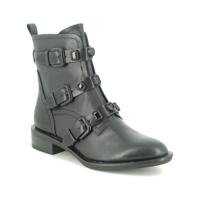 Tamaris Ankle Boots - Black leather - 25415/25/007 MANISA
