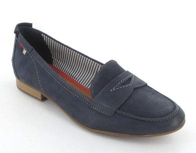 Tamaris Maria 24208-805 Navy lacing shoes