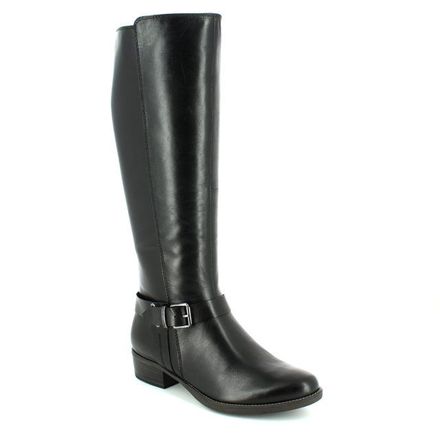 Tamaris Knee-high Boots - Black - 25521/001 MARLY 72