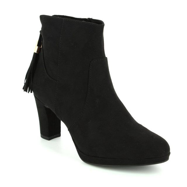 Tamaris Ankle Boots - Black suede - 25369/001 MAURABO