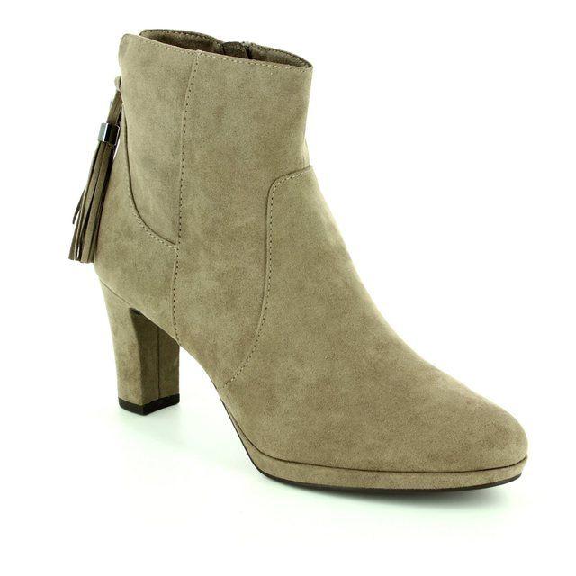 Tamaris Fashion Ankle Boots - Light taupe - 25369/324 MAURABO