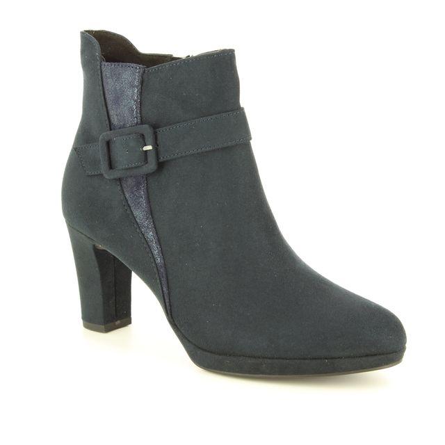 Tamaris Fashion Ankle Boots - Navy - 25363/21/805 MAURABUCK