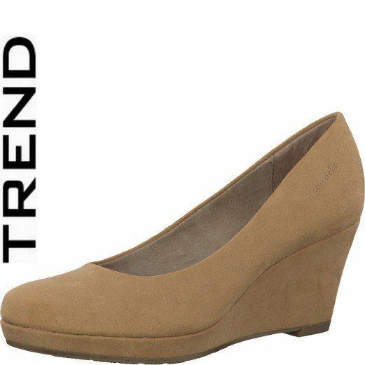 Tamaris Wedge Shoes - Nude - 22449/250 METIS