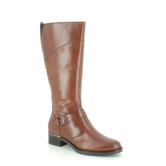 Tamaris Knee-high Boots - Tan Leather  - 25553/23/455 MICIGAN