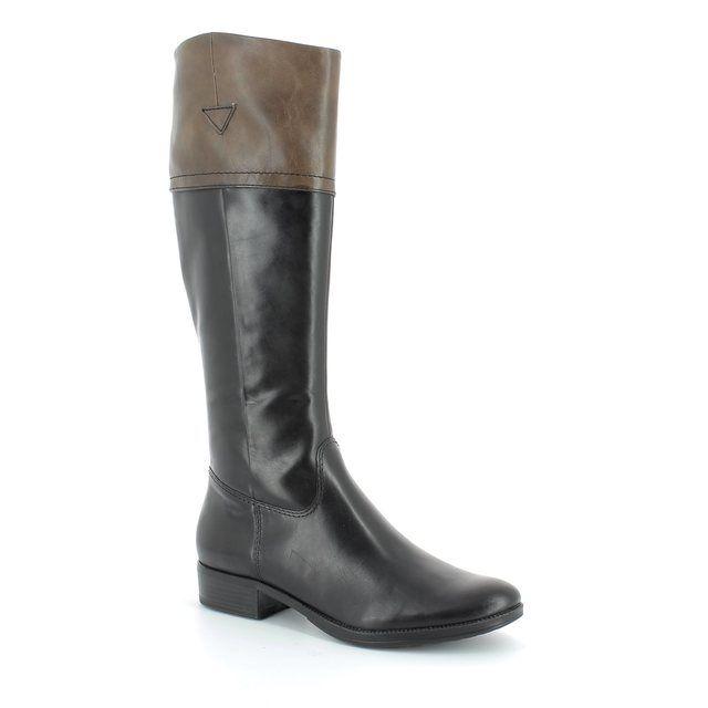 Tamaris Knee-high Boots - Black multi - 25501/014 MODELE SLIM
