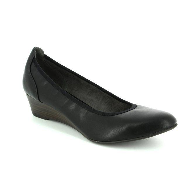 Tamaris Wedge Shoes - Black - 22304/020 MYRICA