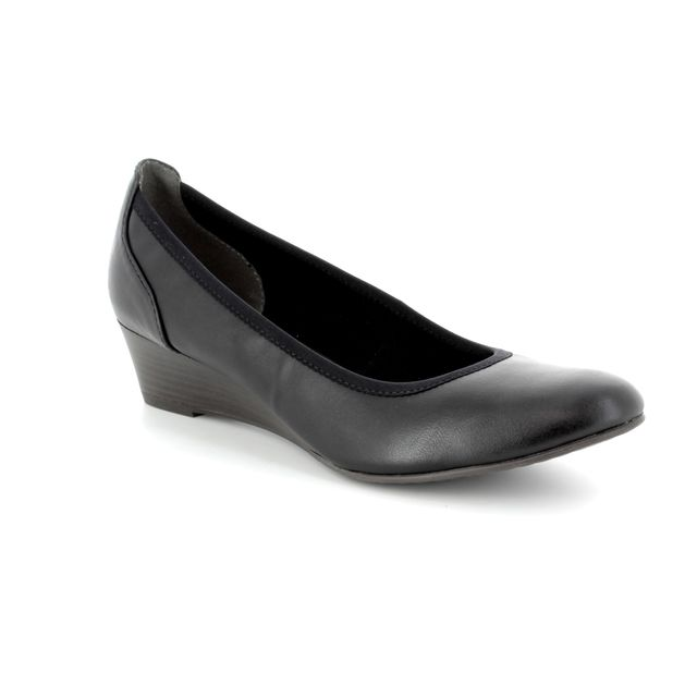 Tamaris Wedge Shoes - Black - 22304/20/001 MYRICA  81