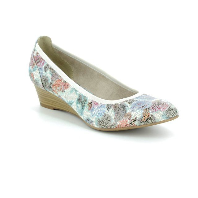 Tamaris Wedge Shoes - Floral print - 22304/20/908 MYRICA  81