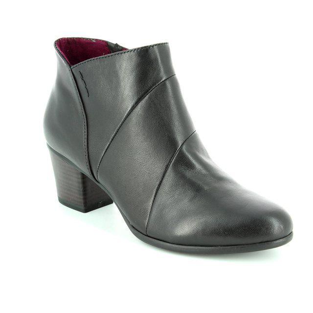 Tamaris Oksana 62 25016-001 Black ankle boots