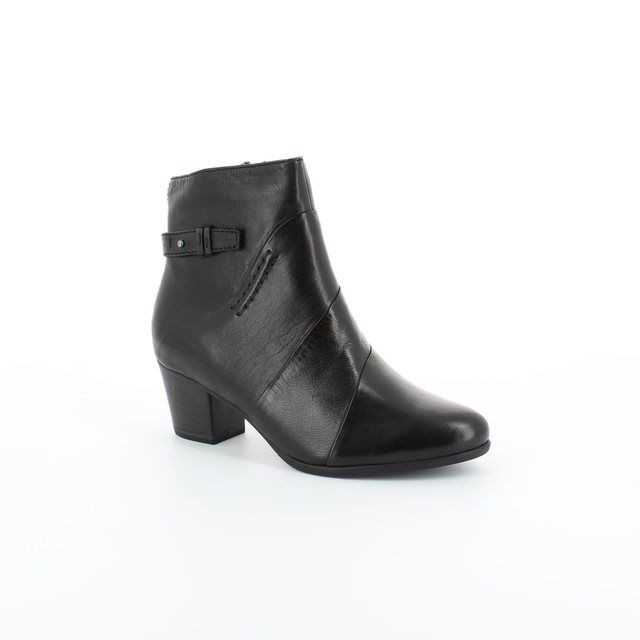 Tamaris Oskana 25302-001 Black ankle boots