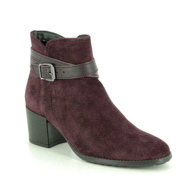 Tamaris Ankle Boots - Wine - 25059/23/549 PAULA
