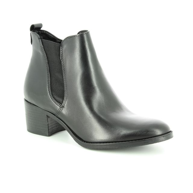 Tamaris Fashion Ankle Boots - Black leather - 25043/21/001 PAULETTA NEXT