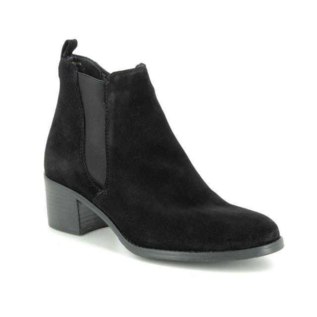 Tamaris Ankle Boots - Black Suede - 25043/23/004 PAULETTA NEXT