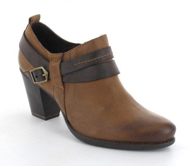 Tamaris Peano 24409-313 Tan shoe-boots