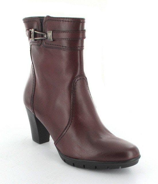 Tamaris Prima 25009-549 Wine ankle boots