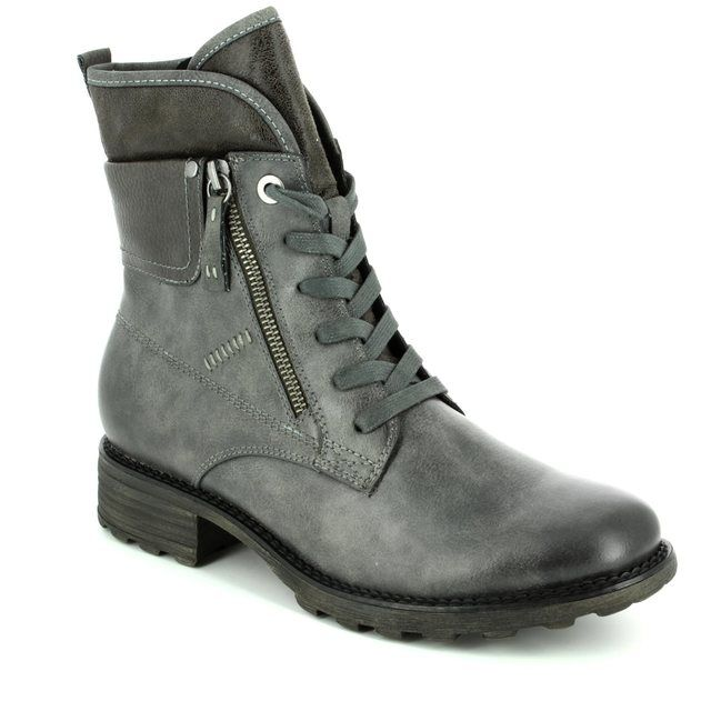 Tamaris Redbud 26248-283 Grey ankle boots