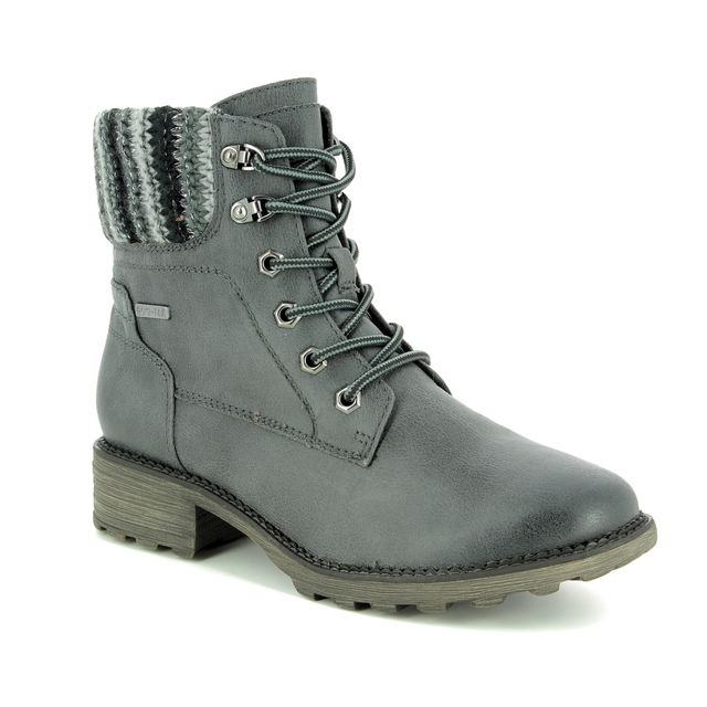 Tamaris Ankle Boots - Dark Grey - 26249/21/206 REDBUD TEX