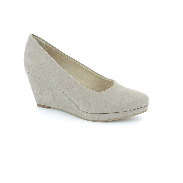 Tamaris Wedge Shoes - Light taupe - 22434/324 ROSSI