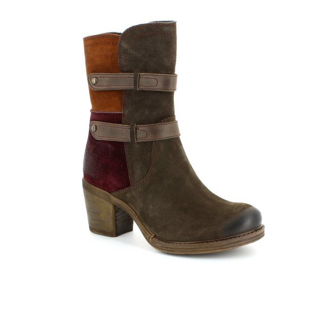 Tamaris Ankle Boots - Brown waxy - 25429/303 RUFF