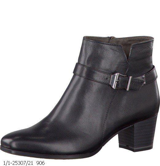 Tamaris Saiva 25307-001 Black ankle boots
