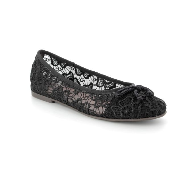 Tamaris Pumps - Black fabric - 22142/20/014 SAKURA 81
