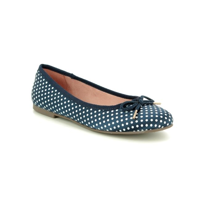 Tamaris Pumps - Navy Multi - 22142/22/888 SAKURA 91