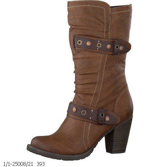 Tamaris Sampino 25008-393 Brown multi ankle boots
