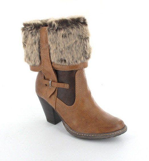 Tamaris Ankle Boots - Tan - 25410/441 SANONI