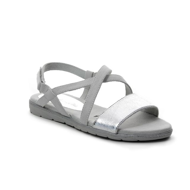 Tamaris Flat Sandals - Off-white - 28131/22/256 SIDCROSS