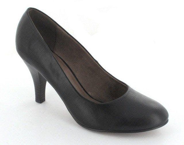 Tamaris Sidium 22414-001 Black high-heeled shoes
