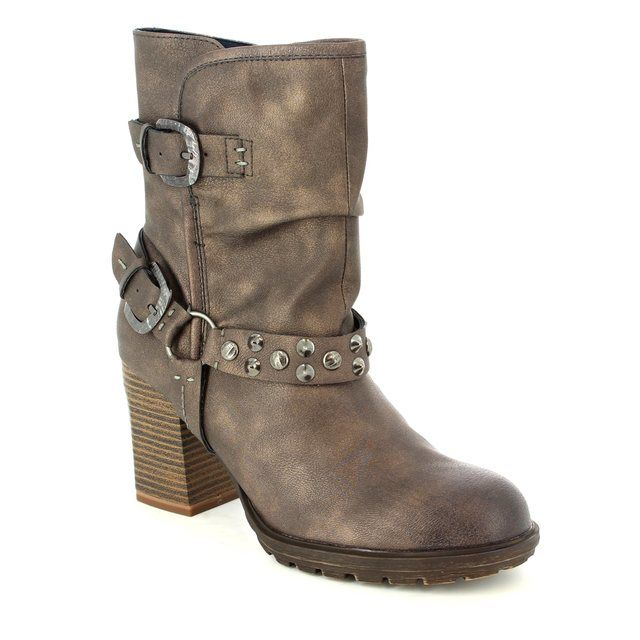 Tamaris Smilla Doda 25464-329 Brown multi ankle boots