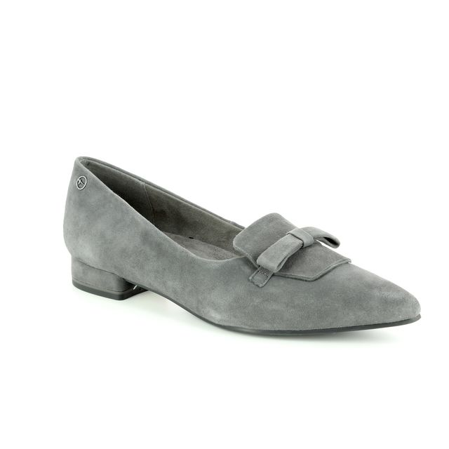 Tamaris Heeled Shoes - Grey Suede - 24200/21/206 SOLACE