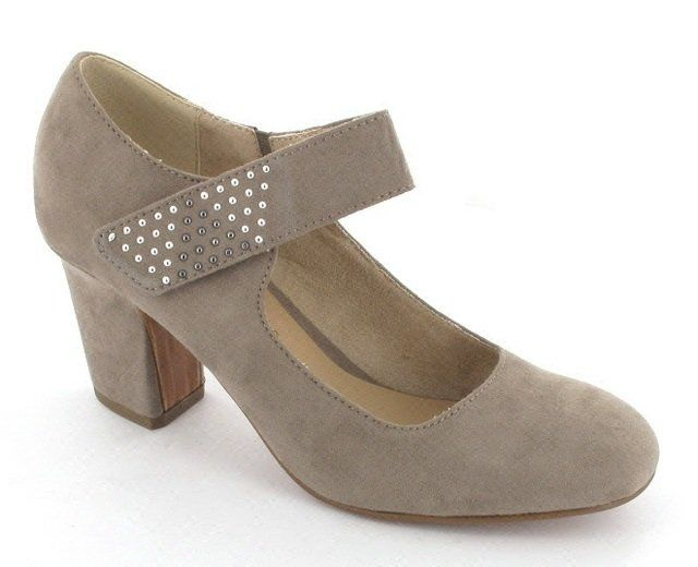 Tamaris High-heeled Shoes - Light taupe - 24419/324 SYNURA