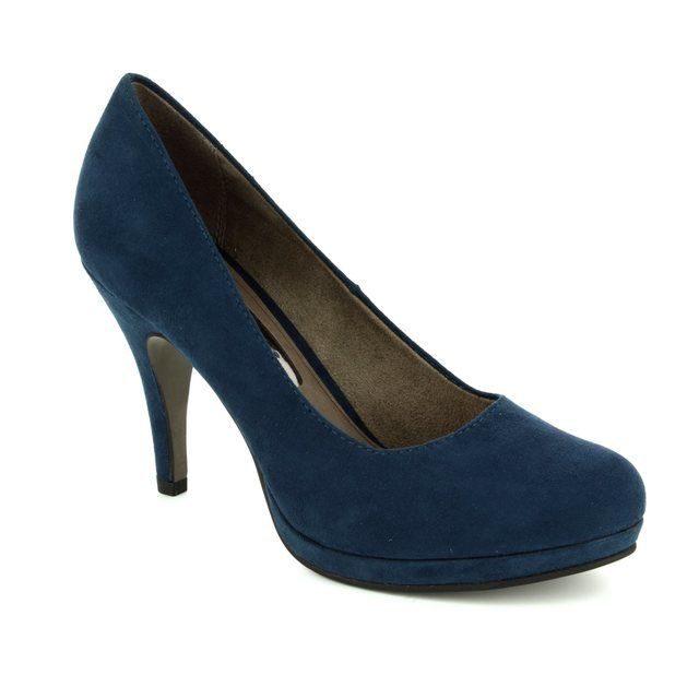 Tamaris High-heeled Shoes - Navy - 22407/805 TAGGIA