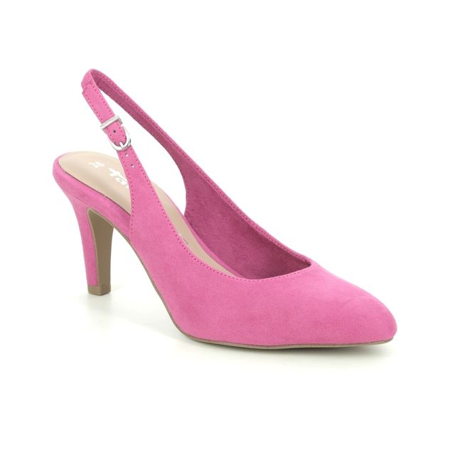 Tamaris Slingback Shoes - Fuchsia - 29605/26/513 TAIMIE