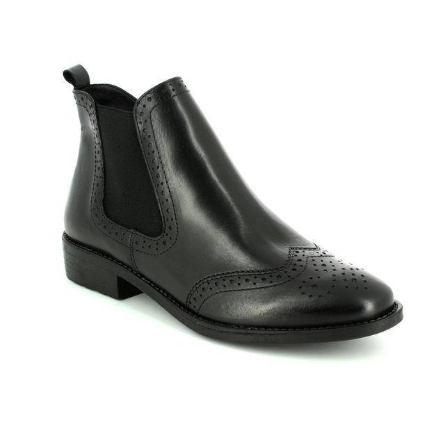 Tamaris Chelsea Boots - Black - 25493/003 TAINA