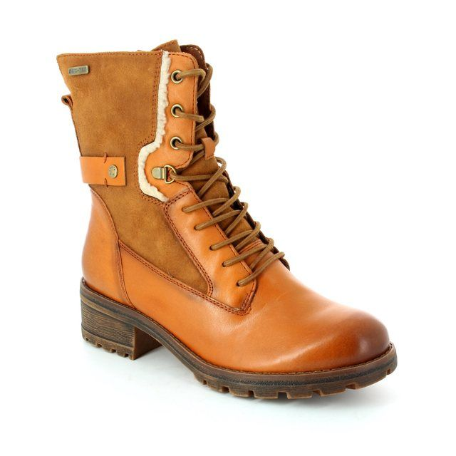 Tamaris Ankle Boots - Tan - 26225/310 TALVES TEX 62