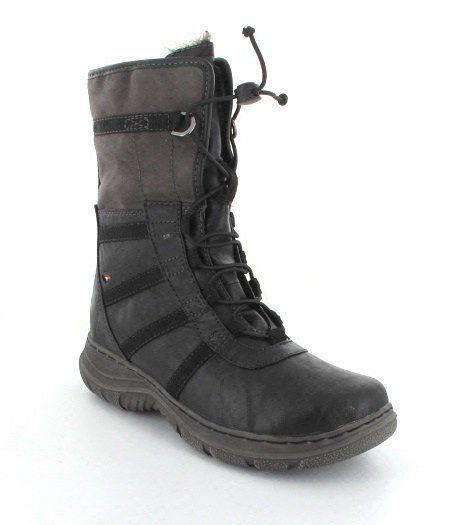 Tamaris Urania 26209-088 Black multi ankle boots