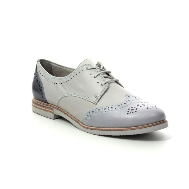 Tamaris Vanni 23207-22-225 Off white multi Brogues