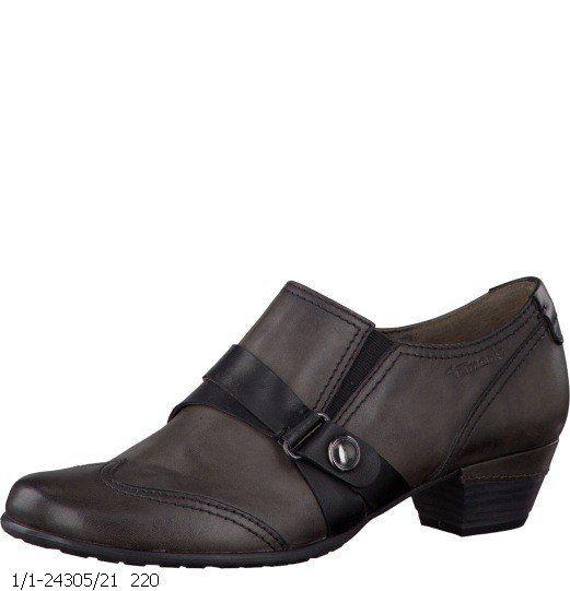 Tamaris Vascosh 24305-220 Dark grey multi lacing shoes