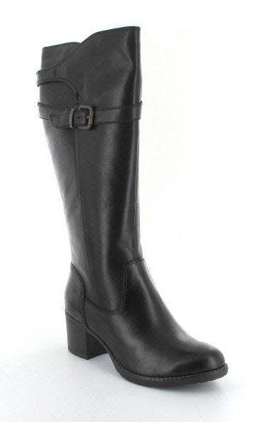Tamaris Yaralong 25513-001 Black knee-high boots