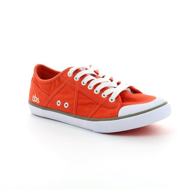 TBS Violay Paviot 3746-80 Red trainers