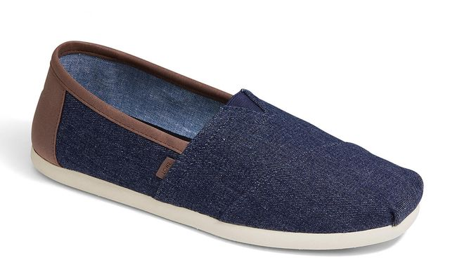 Toms Slip-on Shoes - Navy - 10014455/70 CLASSIC VENICE
